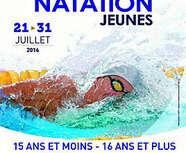 Résultats Championnat de France Natation Jeunes - Amiens du 21 au 31 juillet 2016